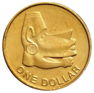 1 dollaro 2012 in bronzo d'alluminio (7,77 g), isole Salomone