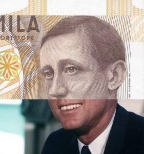 10000 lire, Illusione di prospettiva