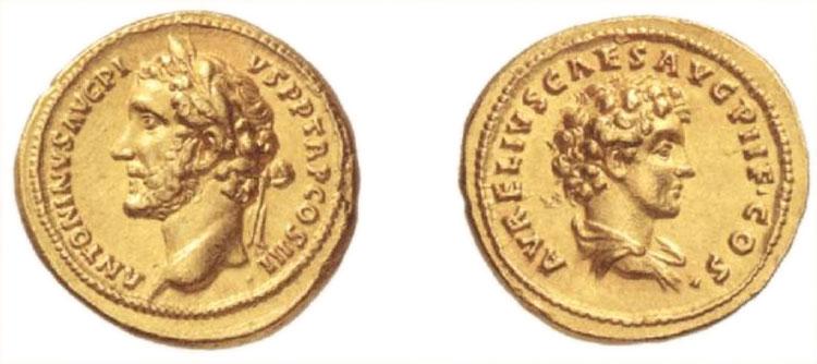 Aureo di Antonino Pio