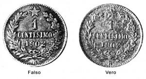 2 centesimi 1902 falsi