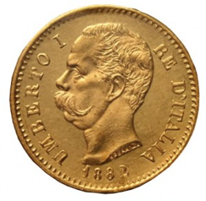 20 lire 1882