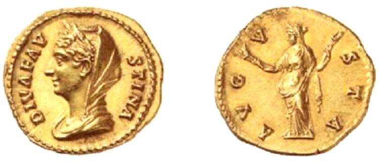 Antonino Pio - aureo