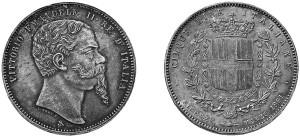 moneta commemorativa del Regno d'Italia
