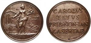 medaglia 1775 per la nascita di carlo tito