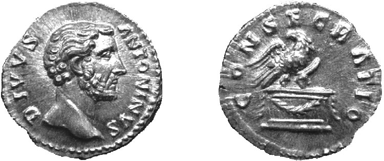 Antoninio Pio - denario