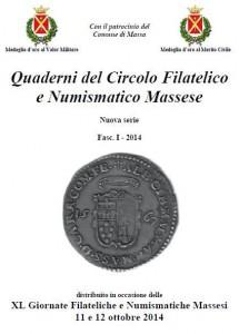 Quaderni del Circolo Filatelico e Numismatico Massese-Nuova Serie