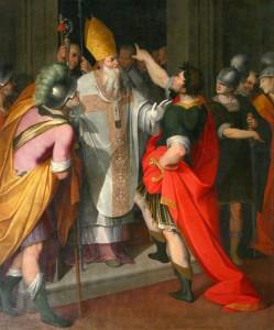 Camillo-Procaccini,-Santo-Ambrogio-ferma-Teodosio