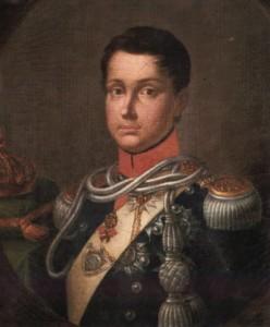 Ferdinando II di Borbone ventenne (1830 ca).