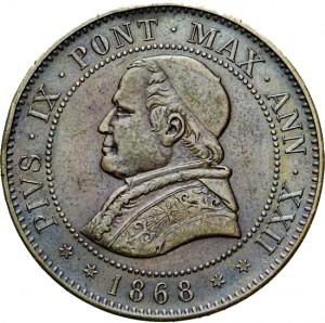 4 soldi 1868 - fronte