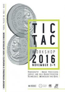 I Workshop Internazionale di numismatica e nuove metodologie d'indagine