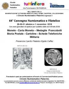 Numismatico e Filatelico Padovano 2016