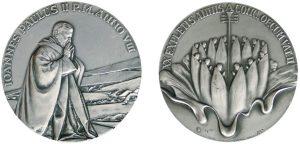 medaglia 1986 Giovanni Paolo II