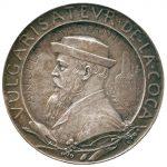 Medaglia in argento di Oscar Roty