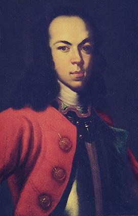 Lo zarevic Aleksej Petrovic, figlio di Pietro I e di Evdochia Lopukhina