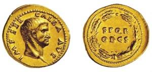 aureo di Galba