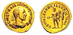 Aureo di Traiano Decio