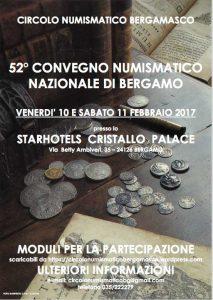 Convegno Numismatico Nazionale di Bergamo