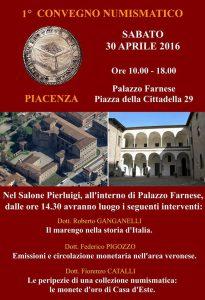 convegno numismatico a Piacenza