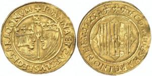 doppio ducato della zecca di Barcellona