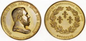 Medaglia Ferdinando II di Sicilia