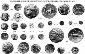 Le monete di Ierone II durante la 2a Guerra Punica