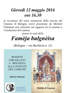 Monete circolanti a Bologna alla nascita del comune