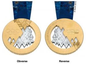 medaglia olimpica sochi 2014