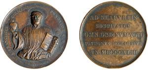 medaglia-1843-san-francesco-caracciolo-patrono-di-napoli