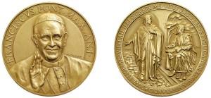 Medaglia Bergoglio Asta Bolaffi