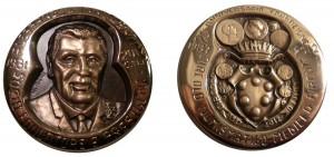 medaglia dedicata a Alessandro Innocenti