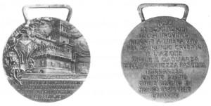 medaglia fascista 1922