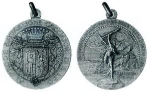 Medaglia Battaglione Cacciatori di San Leo 1910