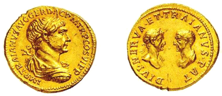monete romane aureo