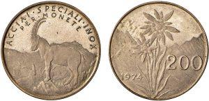 progetto 200 lire 1974