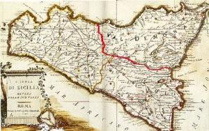 cartina della Sicilia