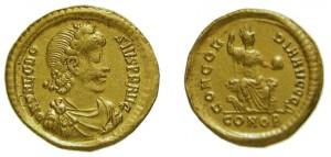 Solido Imperatore Teodosio I