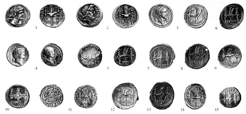 Monete Romane Legiori Romane Ed Esercito Nelle Monete