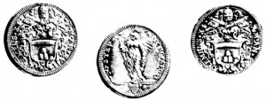 Testone di Clemente XI