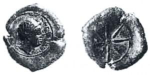 Tetras di Alaisa Etnea 343-339 aC