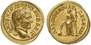 Roma, Caracalla (198-217) Aureo.