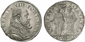 Urbano VIII (1623-1644) Testone