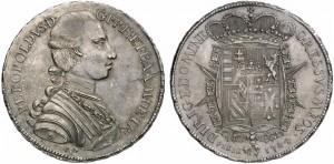 Pietro Leopoldo (1765-1790) Francescone 1784
