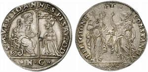 Venezia, Giovanni Pesaro (1658-1659) Osella A. I 1658.