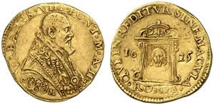 Roma, Urbano VIII (1623-1644) Scudo d'oro 1625 A. II.