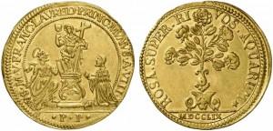 Francesco Loredan (1752-1762) Osella d'oro 1759