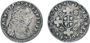 1/2 reale 1732 Torino