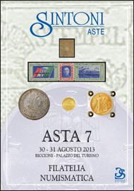 30 e 31 Agosto - Asta 7 - Numismatica e Filatelia