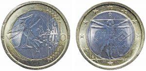 1 euro anomalo