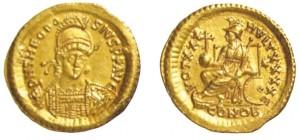 Solido Teodosio II