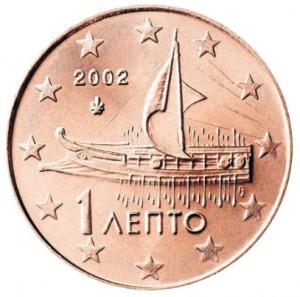 1 centesimo 2002 Grecia